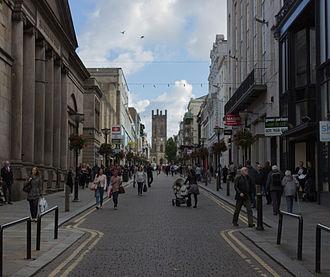 Bold Street, Liverpool - The bottom of Bold Street