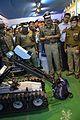 Bomb Disposal Robot Demonstration - Kolkata Police Pavilion - 38th International Kolkata Book Fair - Milan Mela Complex - Kolkata 2014-01-28 7966.JPG