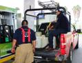 Bomberos de xochimilco recargan gasolina para plantas de luz y unidades de rescate.png