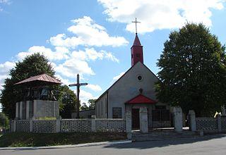 Boniewo, Kuyavian-Pomeranian Voivodeship Village in Kuyavian-Pomeranian, Poland
