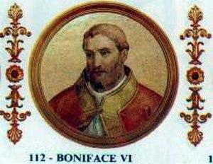 Pope Boniface VI - Image: Boniface VI