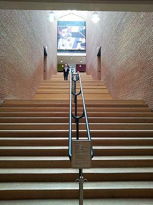 Aldo Rossi - Central staircase Bonnefanten Museum, Maastricht