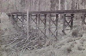 Boolarra, Victoria - Bridge between Boolarra and Darlimurla