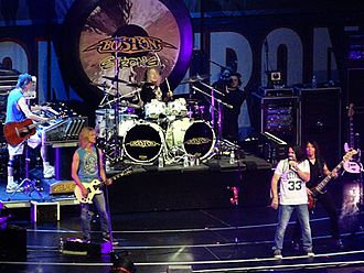 Boston (band) - Boston live at the TD Garden in 2013