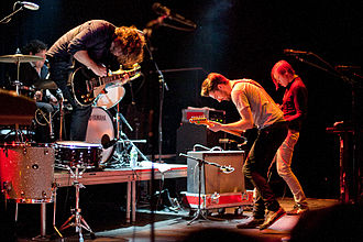 The Boxer Rebellion (band) - The Boxer Rebellion at the Music Hall of Williamsburg in Brooklyn, NY