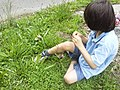 Boy in grass by road.jpg