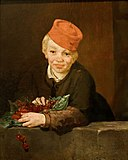 Boy with Cherries Edouard Manet.jpg
