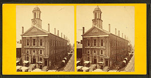 Boylston Market - Boylston Market, 19th century; photo by John B. Heywood