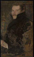 Portrait of Kazimierz Wize.