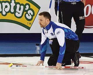 Brad Gushue Canadian curler