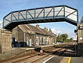 Brandon railway station - the footbridge - geograph.org.uk - 1516141.jpg