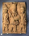 Brass relief plaque, Nigeria, early 17th century.JPG