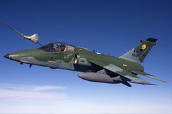 Brazilian Air Force AMX air-to-air refuelling.jpg