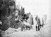La breccia di Porta Pia Roma, 1870