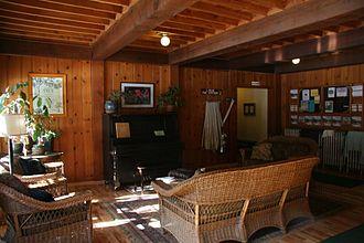 Breitenbush Hot Springs - Inside the Lodge at Breitenbush Hot Springs