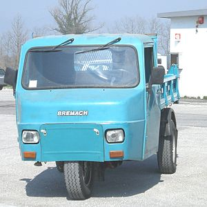 Bremach - Macchi MB1 — produced by Bremach