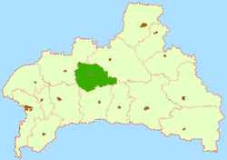 Location of Bjarozas rajons