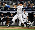 Brett Gardner during game against Dodgers 9-13-16.jpeg