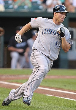 Brett Lawrie on August 5, 2011
