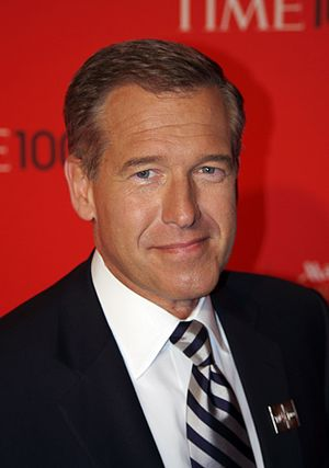 English: Brian Williams at the 2011 Time 100 gala.