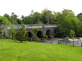 Ballylickey Village in Munster, Ireland