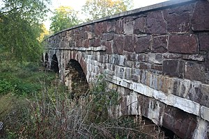 Bridge in Buckingham Township - Bridge in Buckingham Township, October 2012