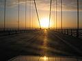 Bridge in Denmark, photo taken while driving the Renault Express Campervan. (9426894015).jpg