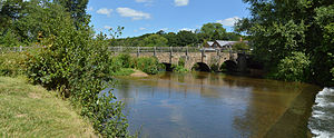 Tilford - One of the medieval bridges at Tilford