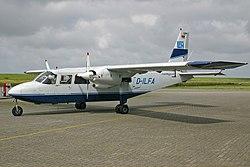 Britten-Norman BN-2 Islander LFH Luftverkehr Friesland Harle D-ILFA, EDXP Harle, Germany PP1149580547. jpg
