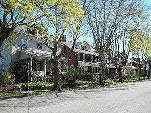 Broad Avenue Historic District - Broad Avenue Historic District, April 2012