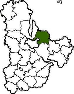 Brovary Raion Subdivision of Kyiv Oblast, Ukraine
