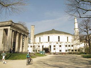 mosque in Brussels, Belgium