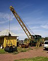 Bucyrus D2 Dragline at the Whitton Museum 1.jpg