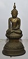 Buddha in Bhumisparsha Mudra - Bronze - Circa 18th Century CE - ACCN 12-275 - Government Museum - Mathura 2013-02-24 6576.JPG