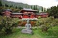 Buddha statue near Byodo-in Temple - panoramio.jpg