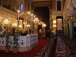 פנים בית הכנסת בופו בפריז
