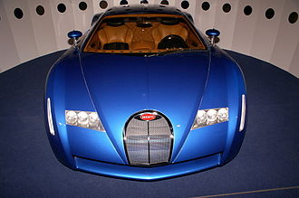 Bugatti 18/3 Chiron - A front view of the 18/3 Chiron