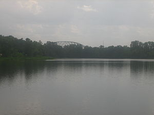 Pineville, Louisiana - Image: Buhlow Lake in Pineville, LA IMG 1168