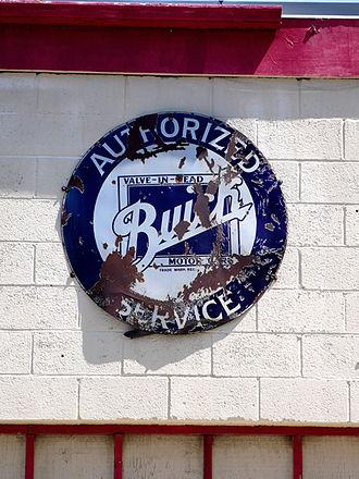 Summit Inn - Antique automotive service sign on the old Texaco garage