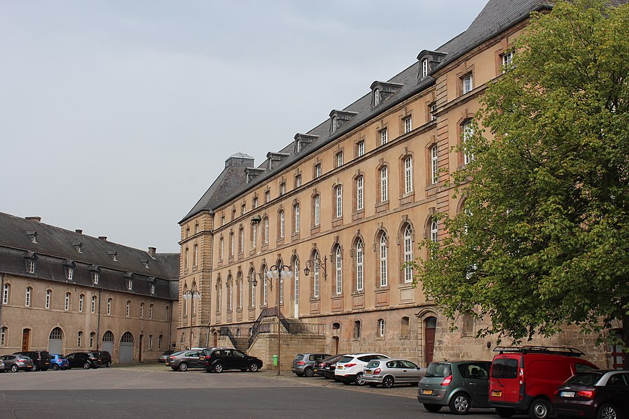 Buildings of former Echternach abbey, now Lycée classique d'Echternach