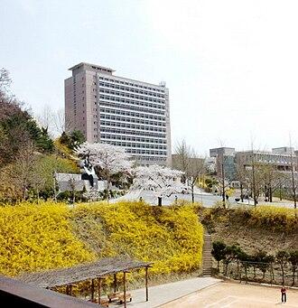 Kookmin University - Campus Hill and Bugak Hall