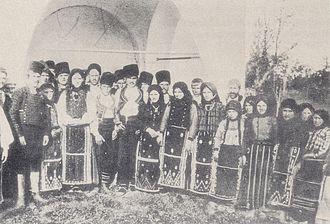 Mihai Viteazu, Constanța - Image: Bulgarians after mass Kasapköy