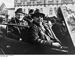 Léonid Brejnev et Erich Honecker en 1971
