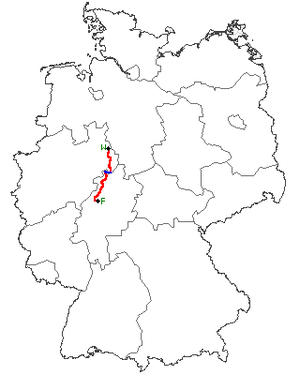 Course of the B 252