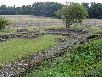 Arnsburg Abbey - Remains of Burg Arnsburg