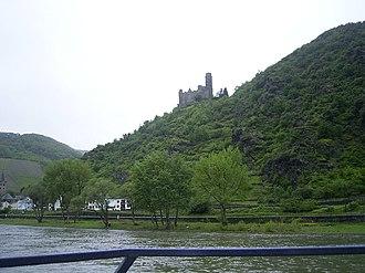Maus Castle - Image: Burg Maus am Rhein