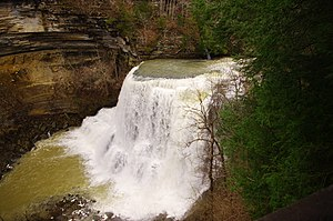 Burgess Falls - Image: Burgess falls big falls tn 2