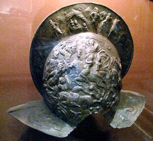 Jan Tarnowski - Tarnowski's parade burgonet morion helmet.