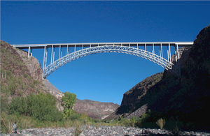 Arizona State Route 93 - 1966 Burro Creek Bridge