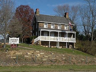 Harrison Township, Allegheny County, Pennsylvania - The Burtner Stone House, built in 1821, is along Burtner Road in Harrison Township.
